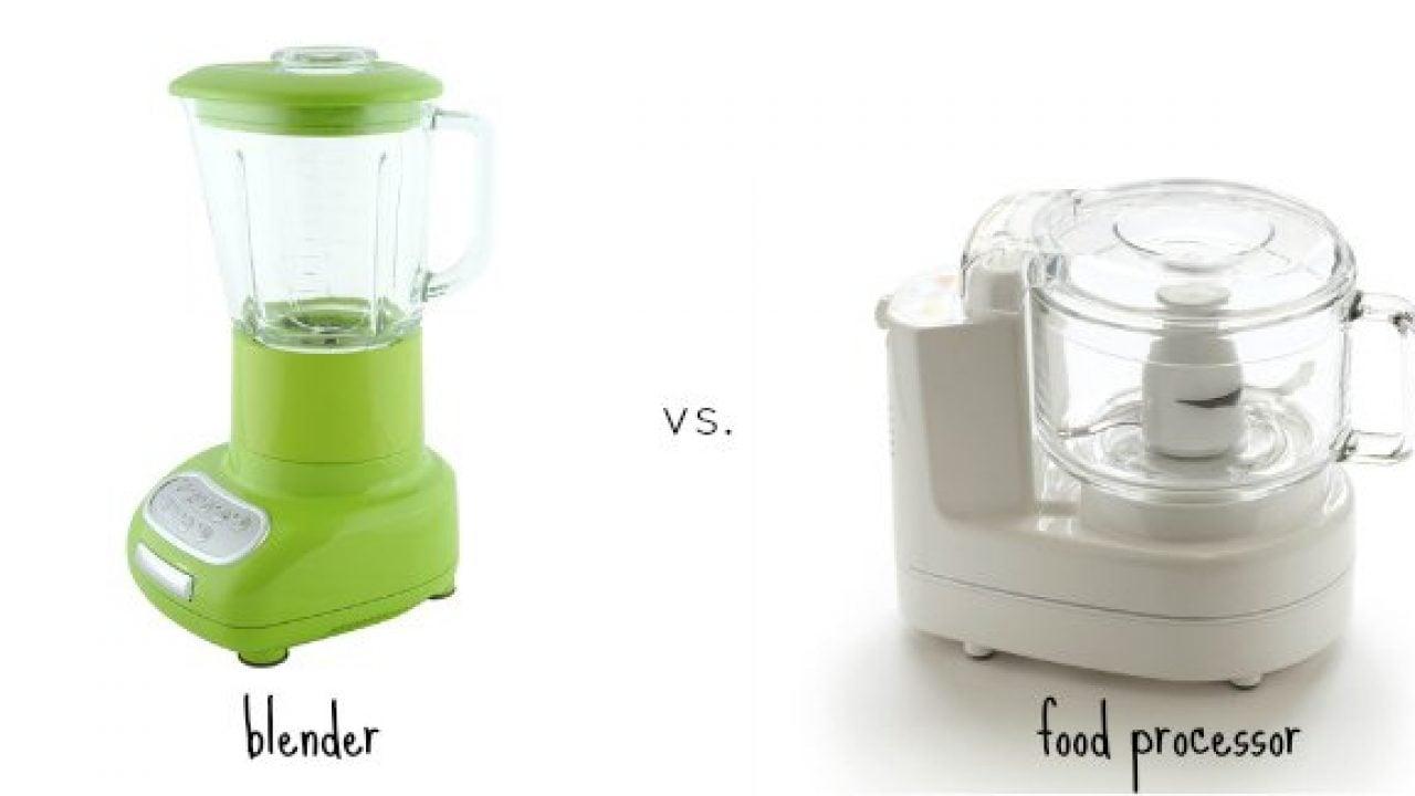 Blenders Vs Food Processors For Baby Food